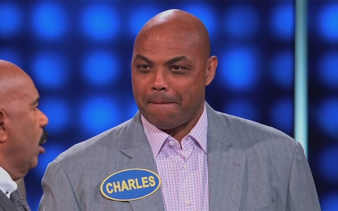 "Charles Barkley Gave A Shocking Answer On ""Celebrity Family Feud"" [VIDEO]"