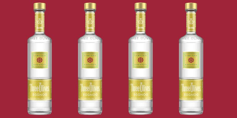 Three Olives Made An Eggnog Vodka