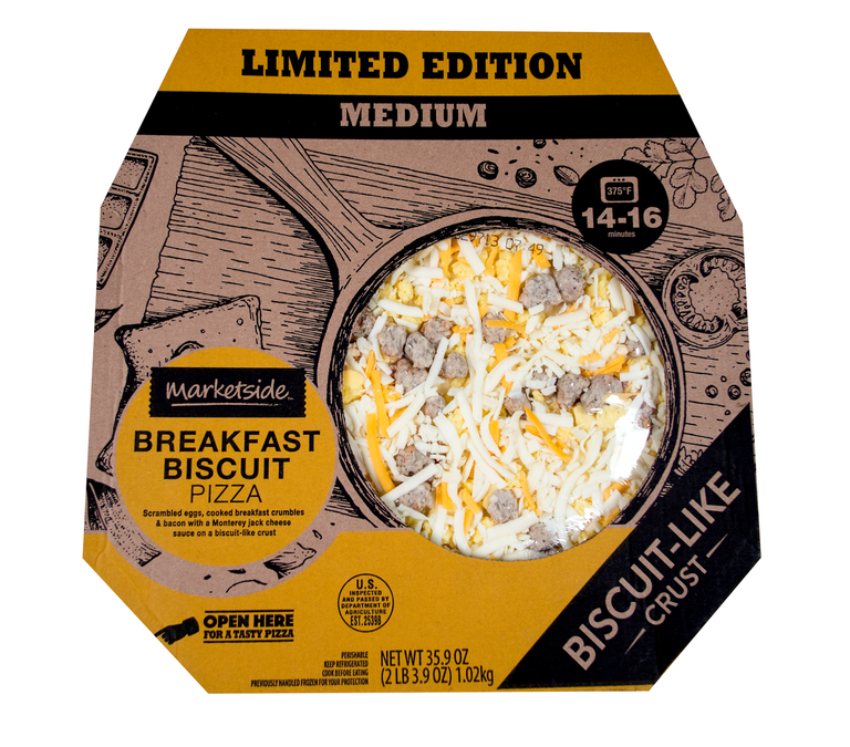 Walmart Is Selling A Breakfast Biscuit Pizza