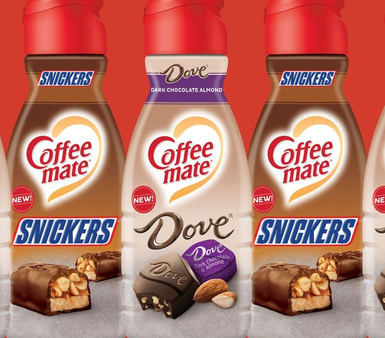 Snickers And Dove Coffee Creamer In Stores Now!