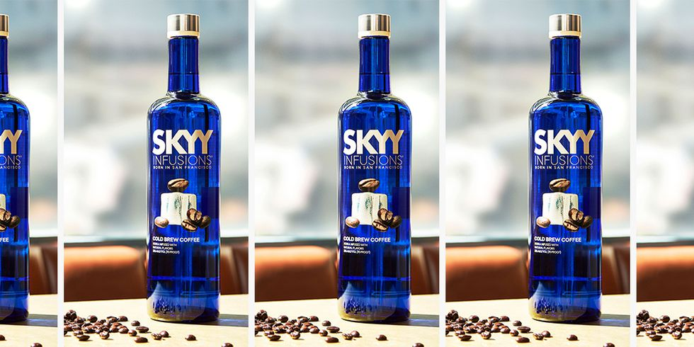 SKYY Just Released Cold Brew Infused Vodka
