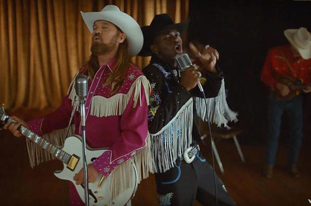 "Lil Nas X Buys Billy Ray The Maserati From ""Old Town Road"" Video"