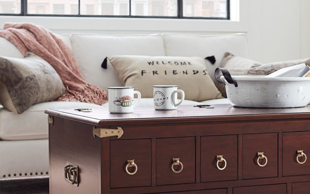Pottery Barn Is Releasing 'Friends' Collection This Month