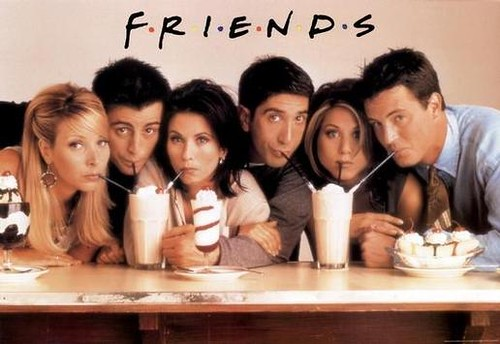NEED This 'Friends' Themed Pool Float [PIC]