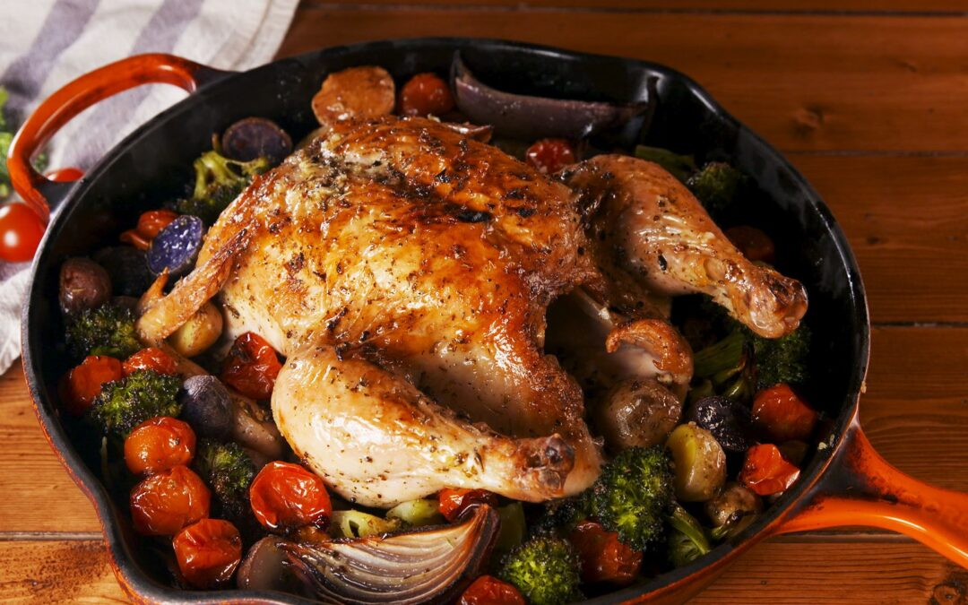Roast Chicken Recipe From My Podcast [VIDEO]